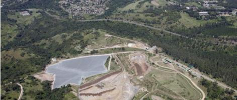 Ariel photograph of the extent of the Mariannhill Landfill Conservancy